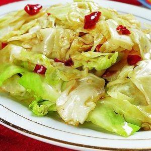 手撕包菜chou chinois sauté au piment