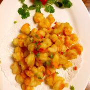 椒盐虾Crevette au sel et poivre