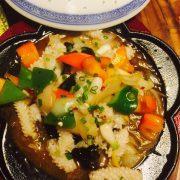 铁板鱿鱼Calamars en plaque chaufantte