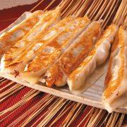锅贴raviolis grillés fait maison