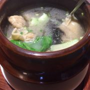 馄钝soupe de raviolis chinois